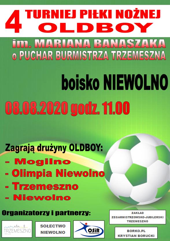 V Turniej Piłki Nożnej Oldboy im. Mariana Banaszaka @ BOISKO NIEWOLNO